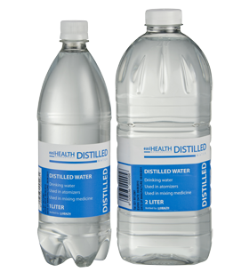 easiHEALTH DISTILLED WATER